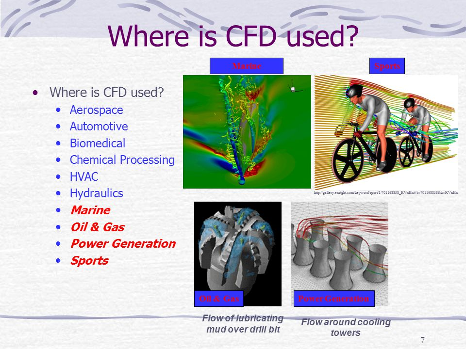 48 Example of CFD Process (Physics) No heat transfer