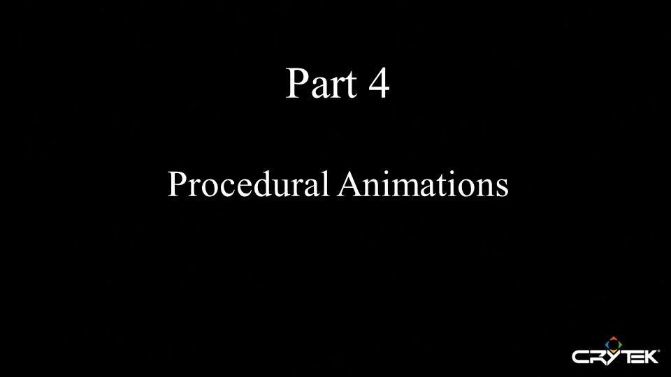 Part 4 Procedural Animations