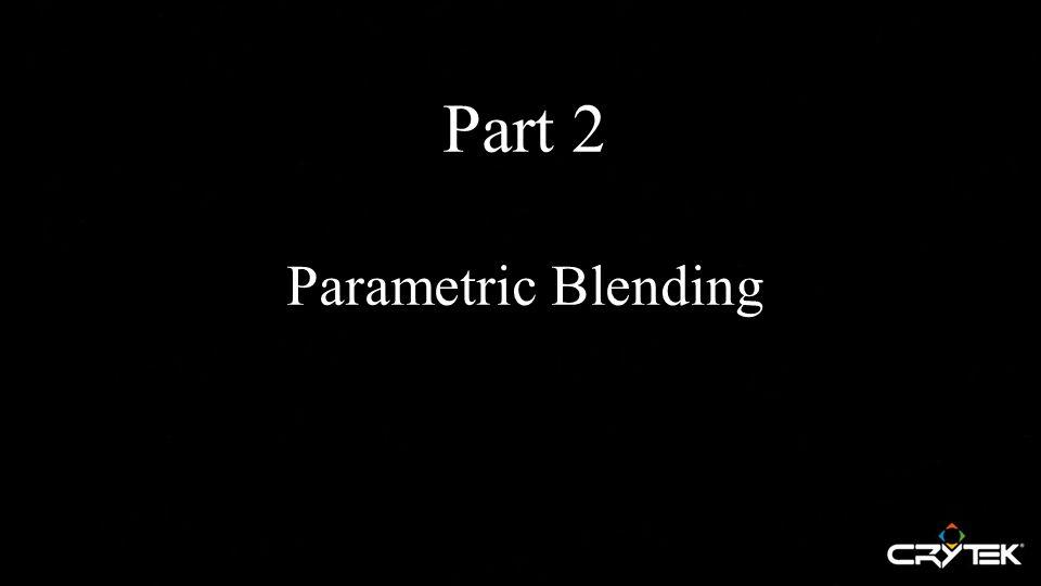 Part 2 Parametric Blending
