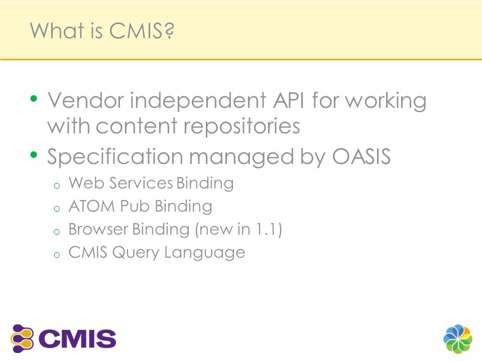 CMIS Code Examples