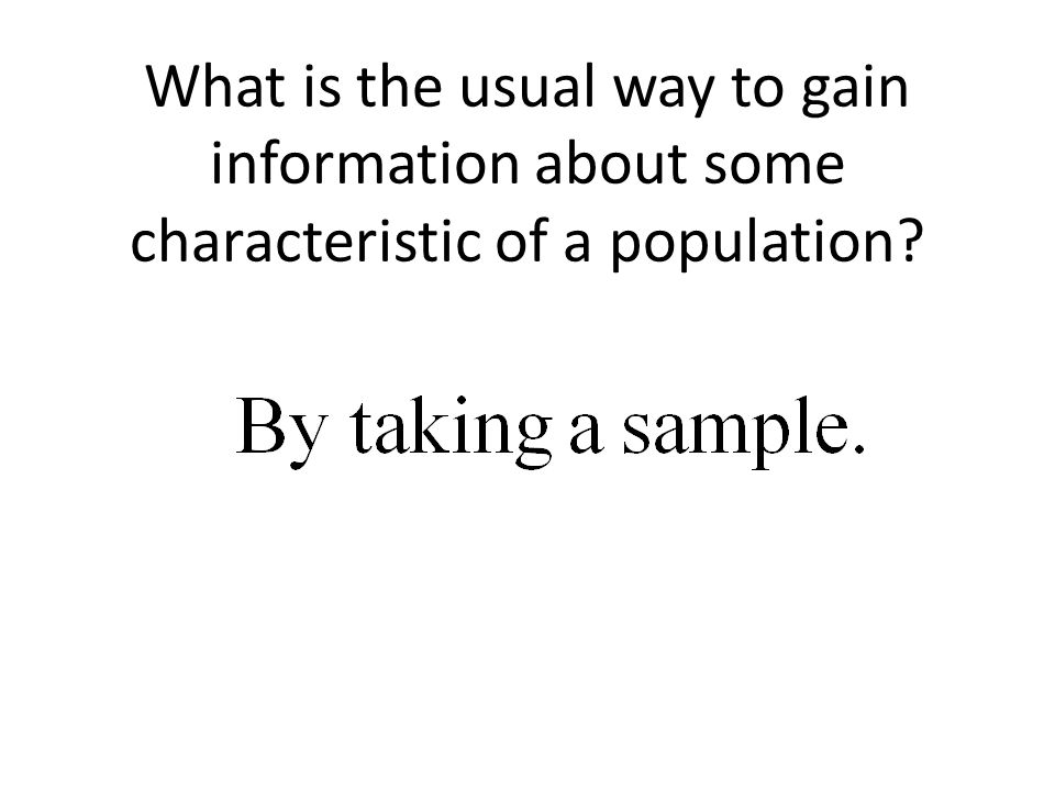 For a better understanding of bias and variability, think of the center of a target as the true population parameter and an arrow shot at the target as a sample statistic.