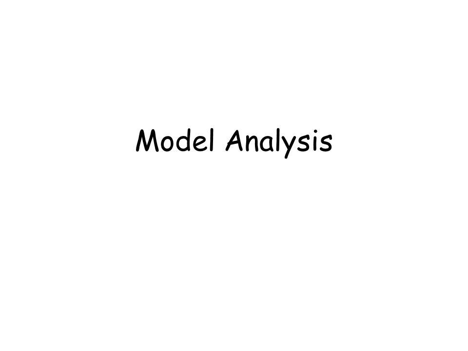 Model Analysis