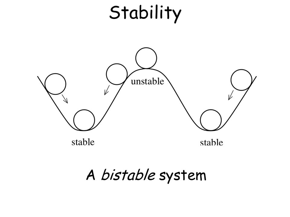 Stability A bistable system