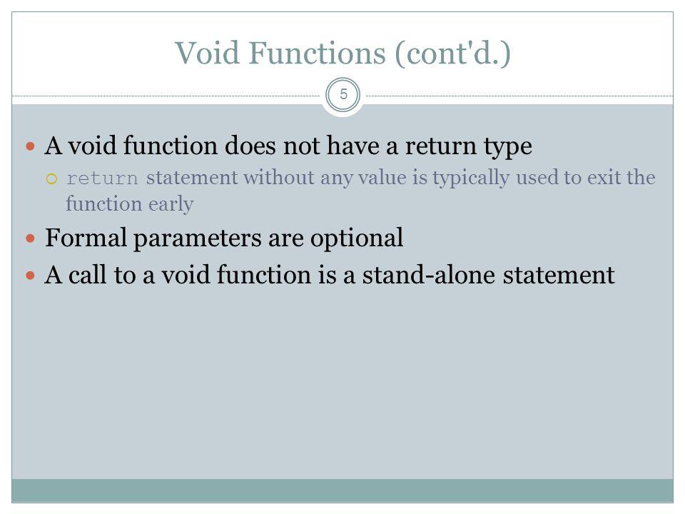 Value Parameters: Example 16
