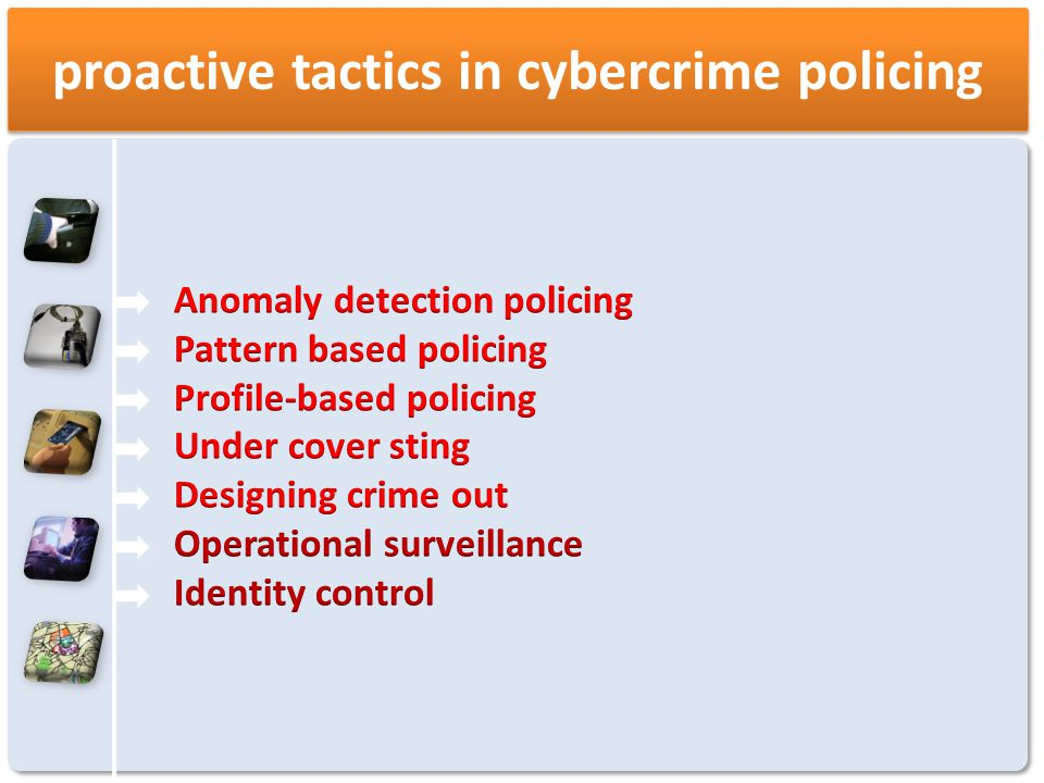 proactive tactics in cybercrime policing