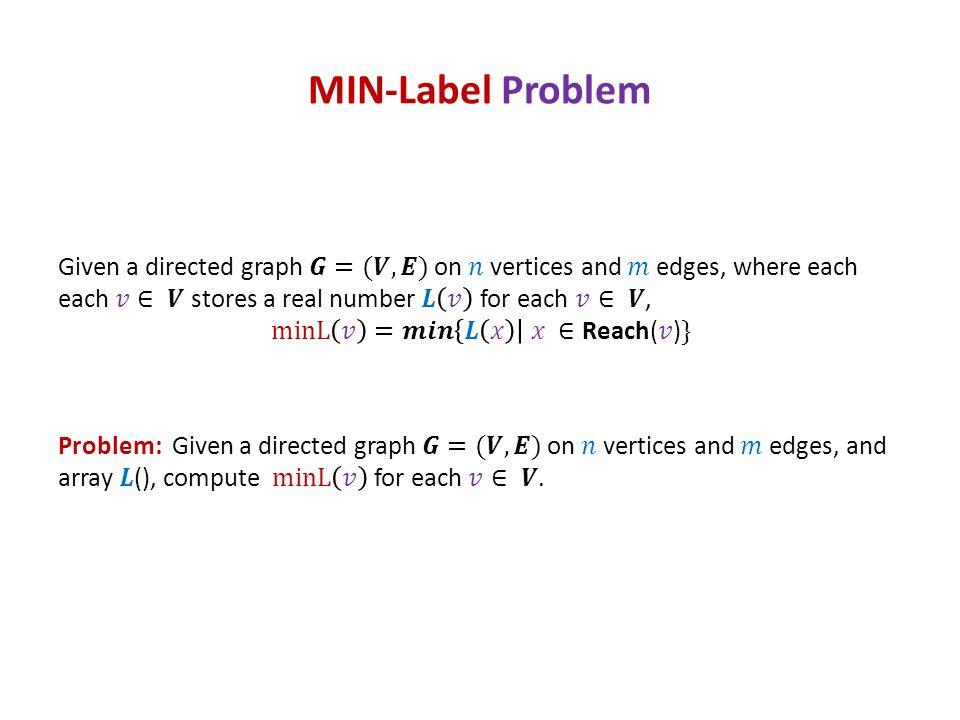 MIN-Label Problem
