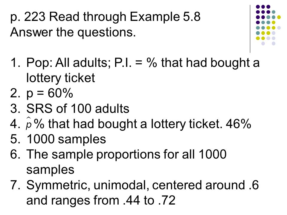 8.Sample size is 1523 9. The sample proportions for 1000 samples 10.
