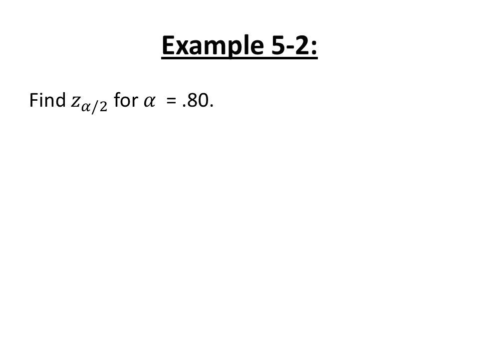 Example 5-2: