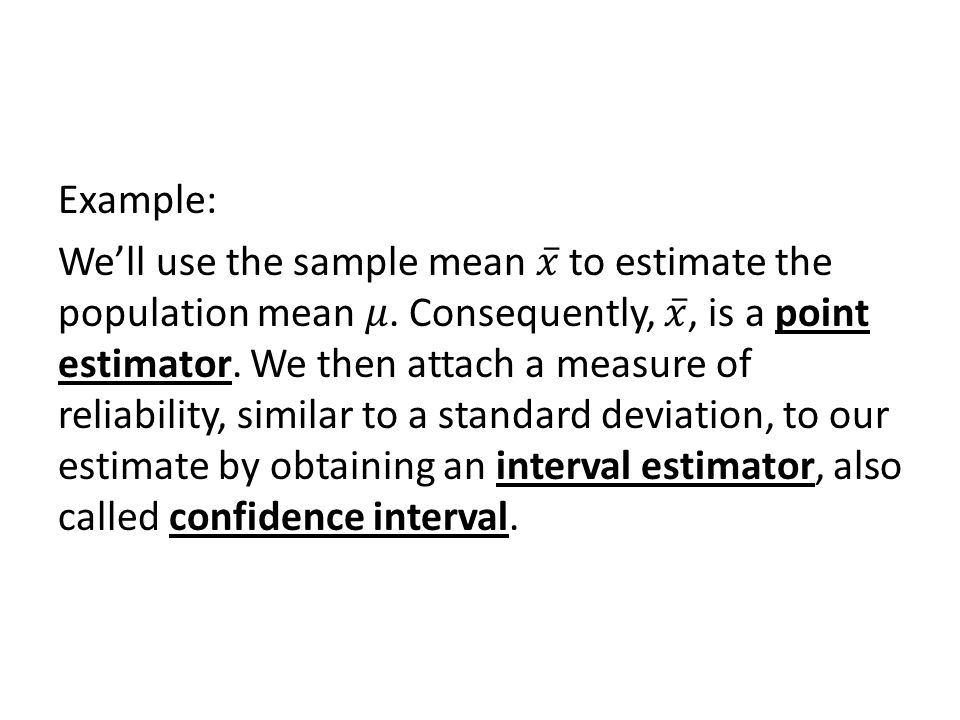 5-2: Confidence Interval for a Population Mean: Normal (z) Statistic