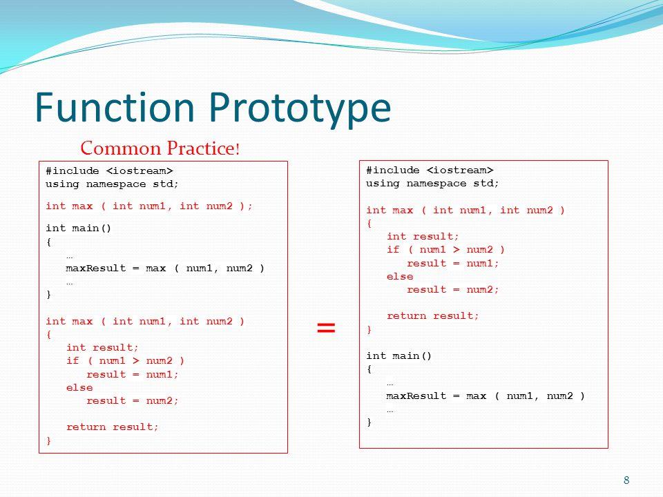 More about getting input cin.get() cin.ignore() getline(cin, string) 49