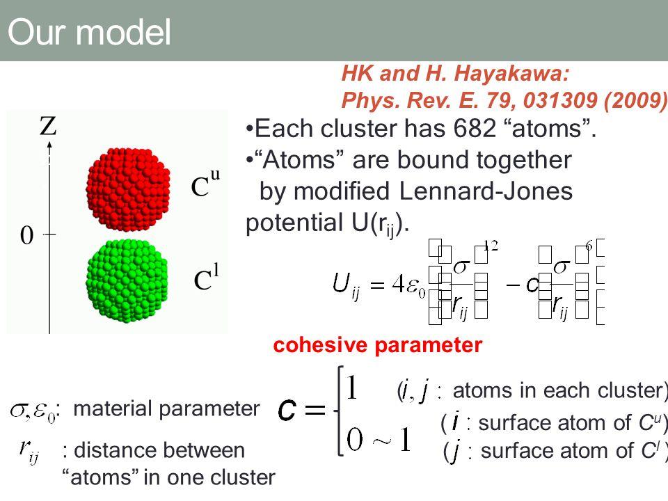 T=0.02 (1.2[K]) N.V. Brilliantov et al.