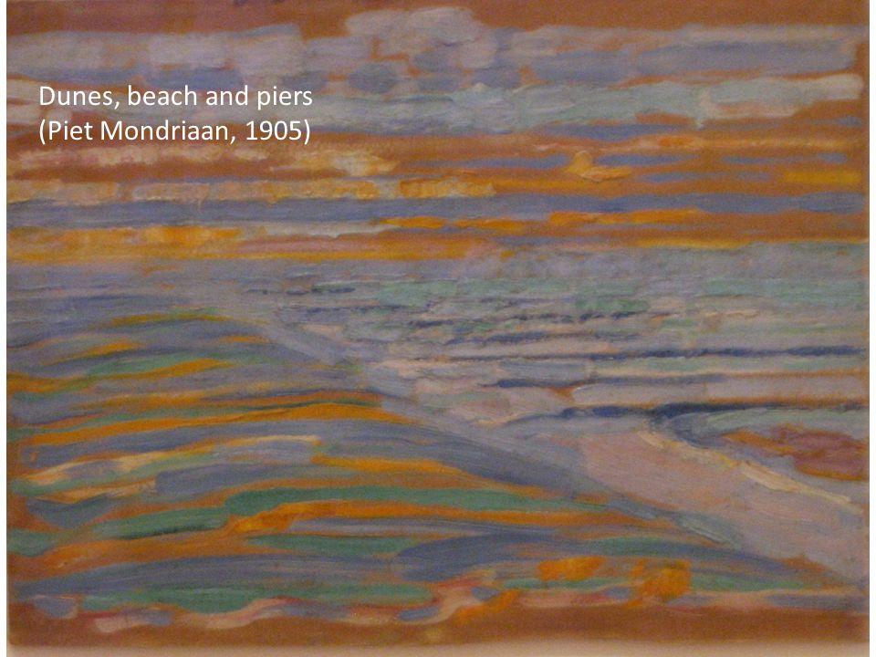 Dunes, beach and piers (Piet Mondriaan, 1905)