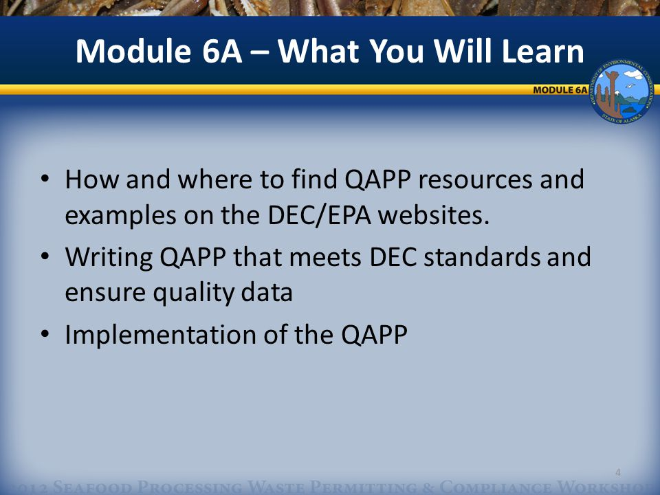 Table Defining Measurement Quality Objectives: State Quality Assurance Plan Requirements 15