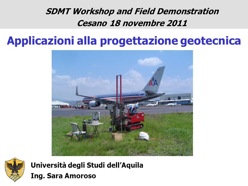 REFERENCE: State-of-the-art Lecture No.1 (Alessandria Egitto Oct 2009) 17th Int.
