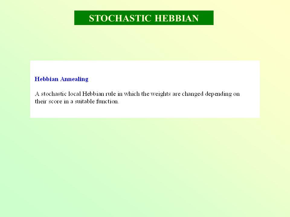 STOCHASTIC HEBBIAN