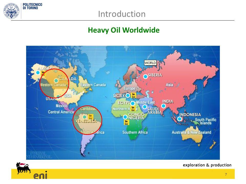 7 Introduction Heavy Oil Worldwide