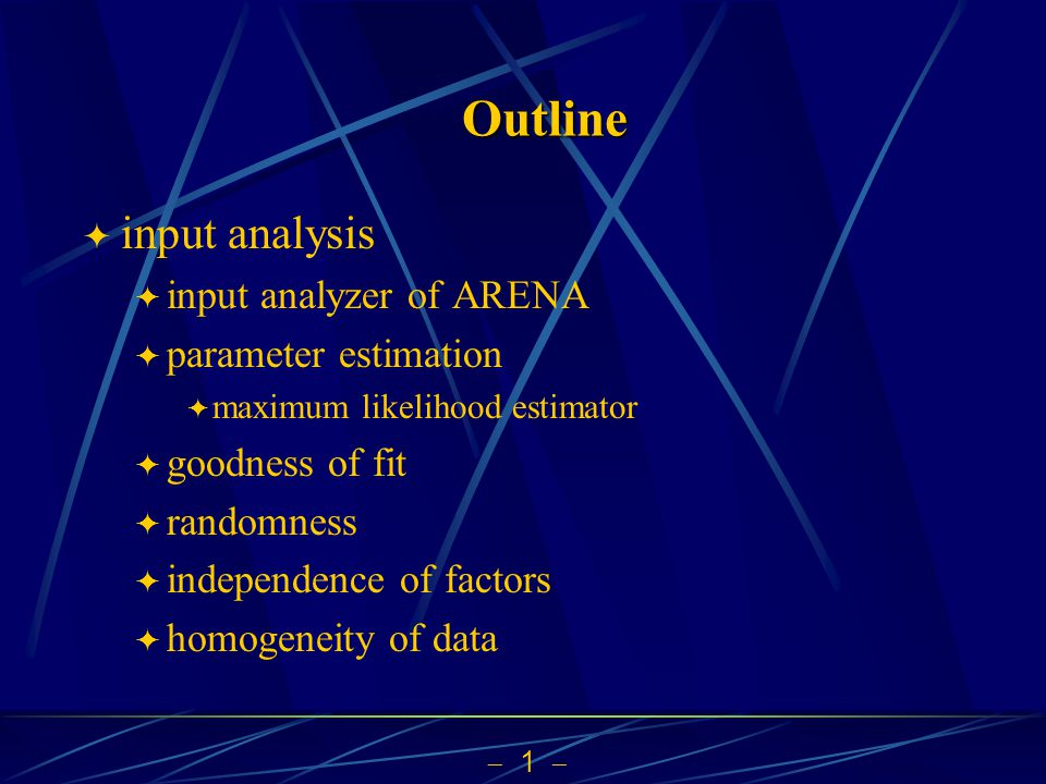  12  Method of Moments  kth moment of X: E(X k )  two ways to express moments  from empirical values  in terms of parameters  estimates of parameters by equating the two ways  Examples: Bernoulli Distribution, Exponential Distribution