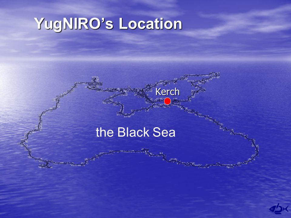 YugNIRO's Location Kerch the Black Sea