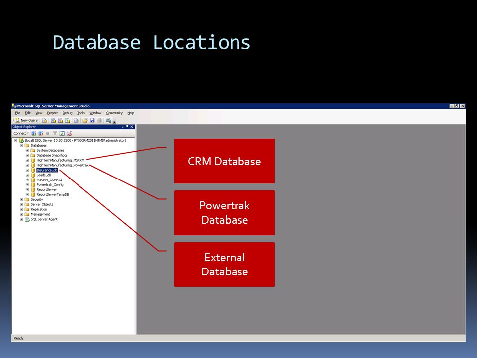 Powertrak Data Source Add SQL to join External Data with CRM Contacts