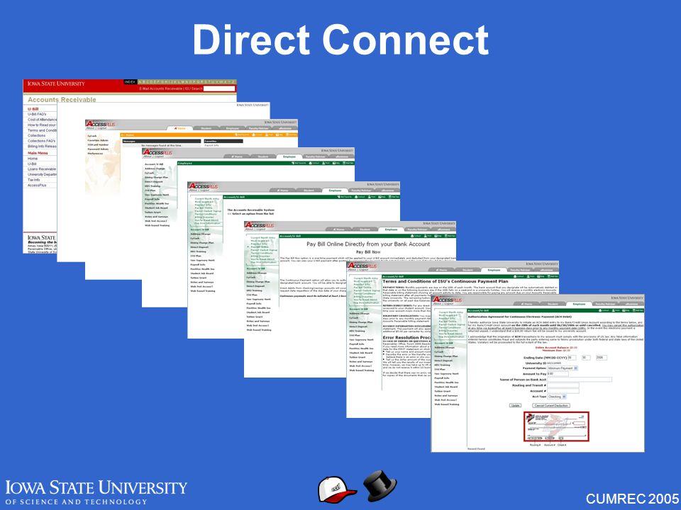CUMREC 2005 Direct Connect