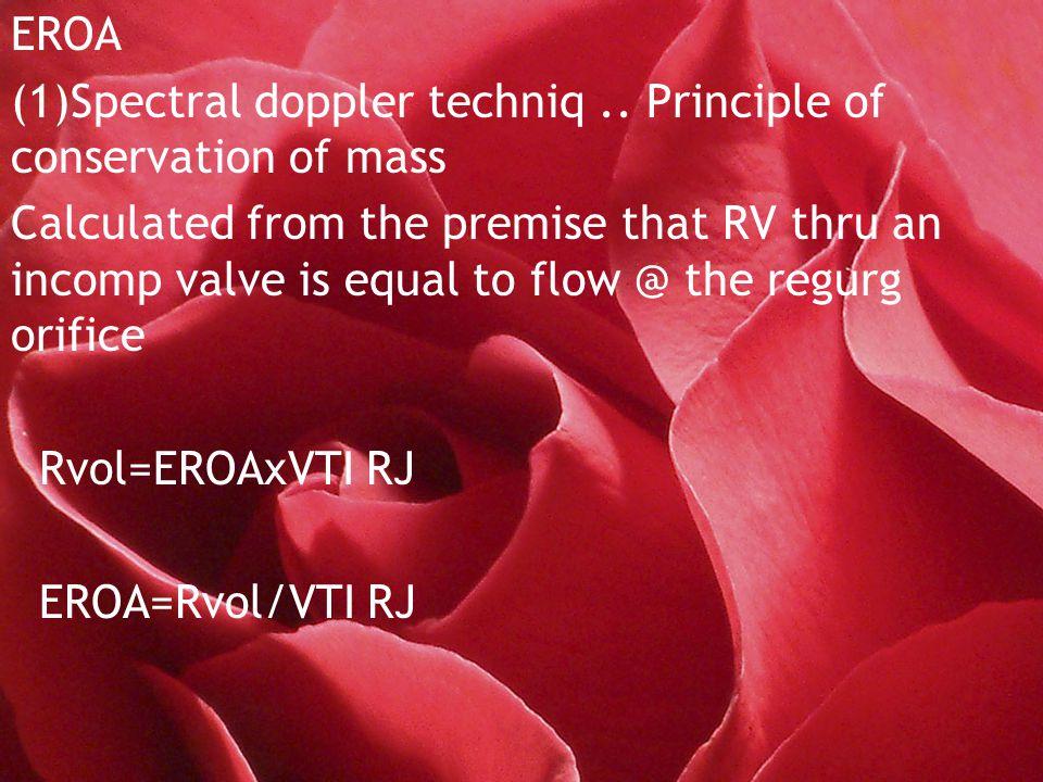 EROA (1)Spectral doppler techniq..