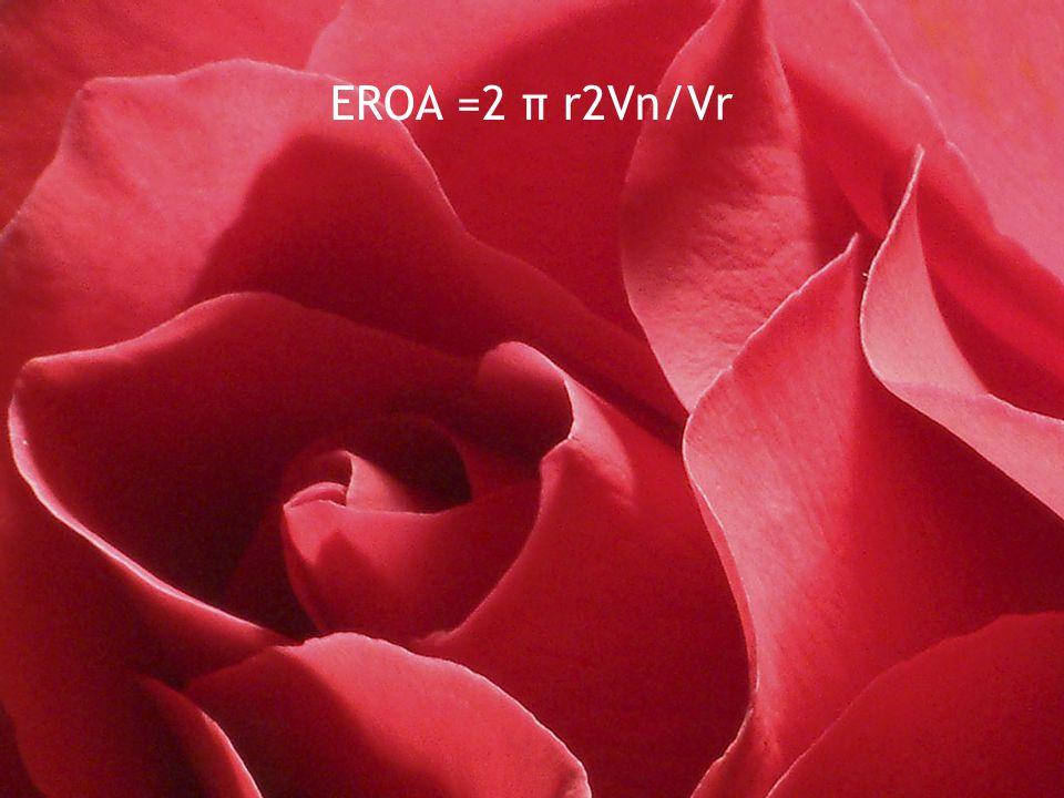 EROA =2 π r2Vn/Vr