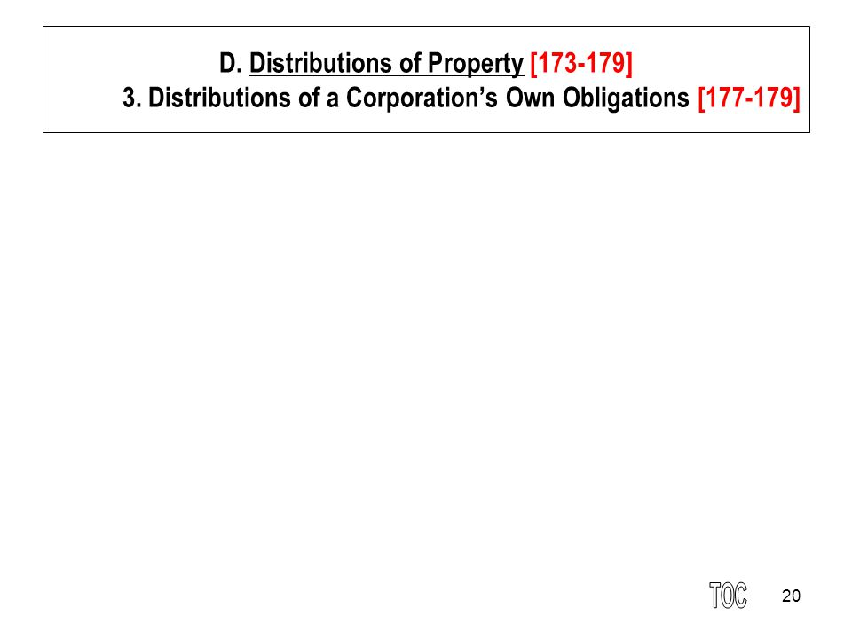 20 D.Distributions of Property [173-179] 3.