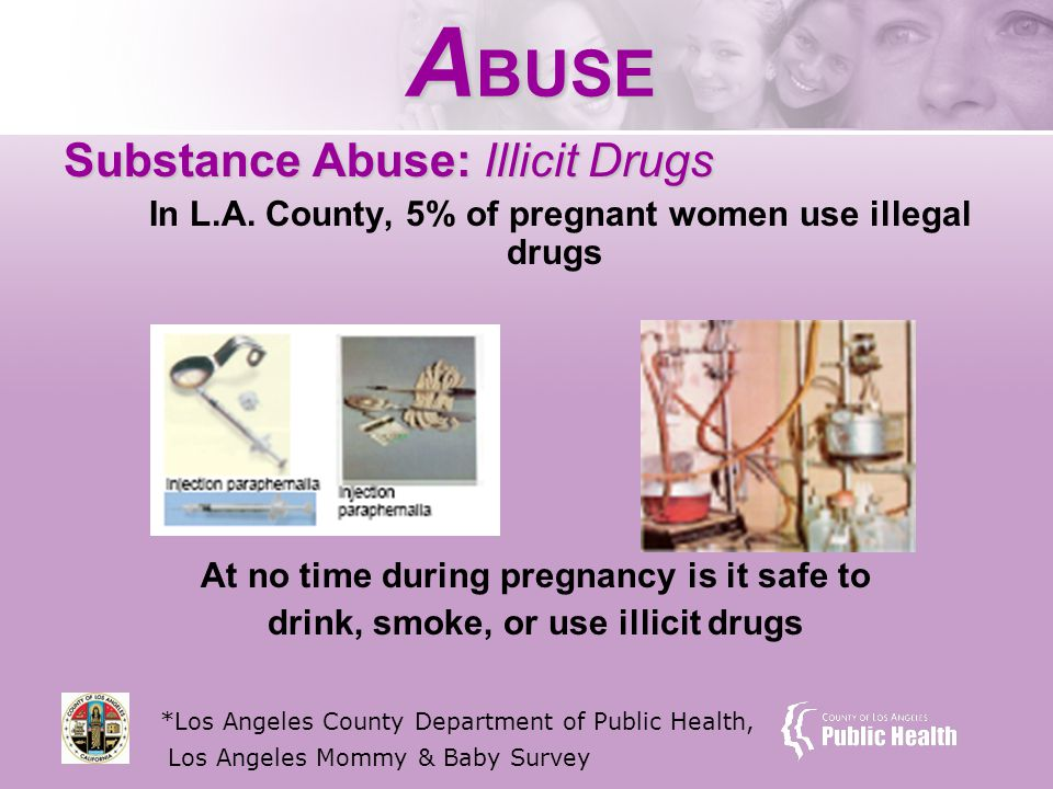 A BUSE Substance Abuse: Illicit Drugs In L.A.