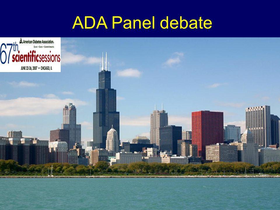 ADA Panel debate