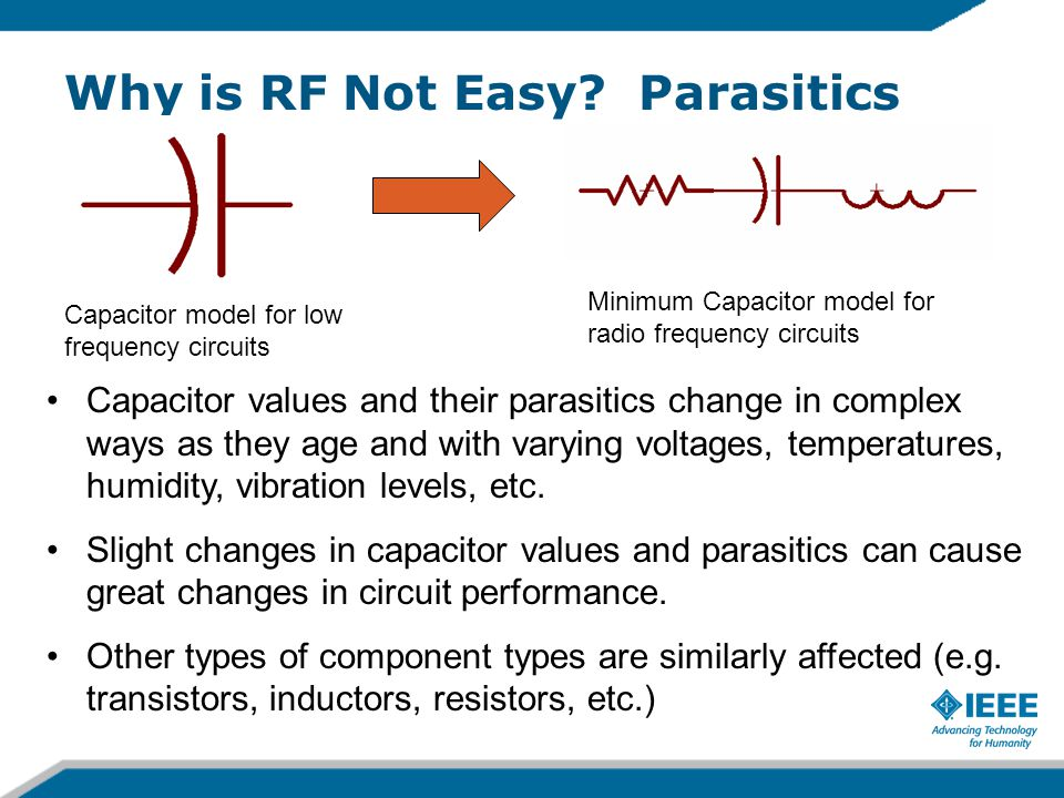 Why is RF Not Easy.