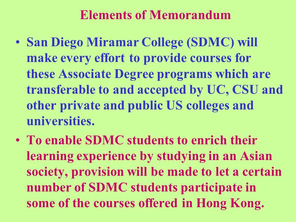 Memorandum of Understanding Signed