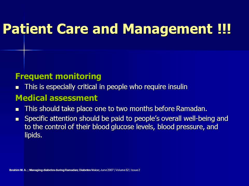 Patient Care and Management !!.
