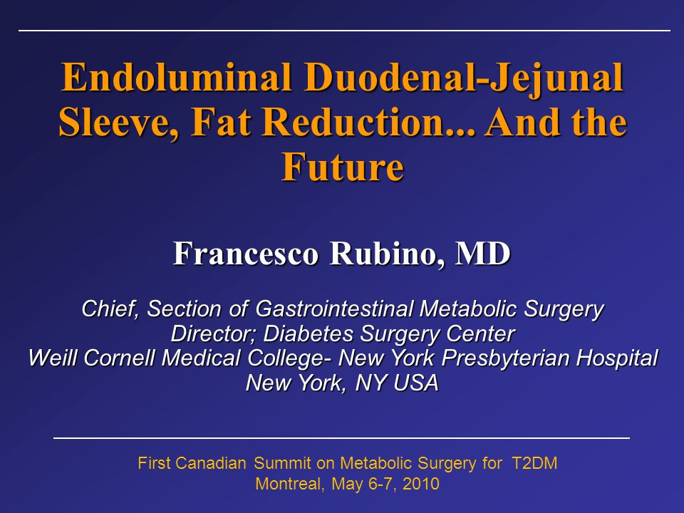 Metabolic Surgery… the future Solving the BMI issue… Diabetes-specific criteria for surgical indication Risk-Stratification in diabetes Improve Standards of Clinical Research