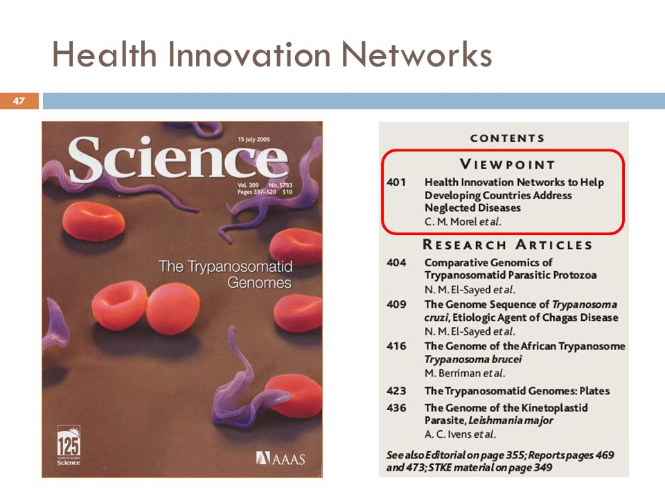 Health Innovation Networks 47