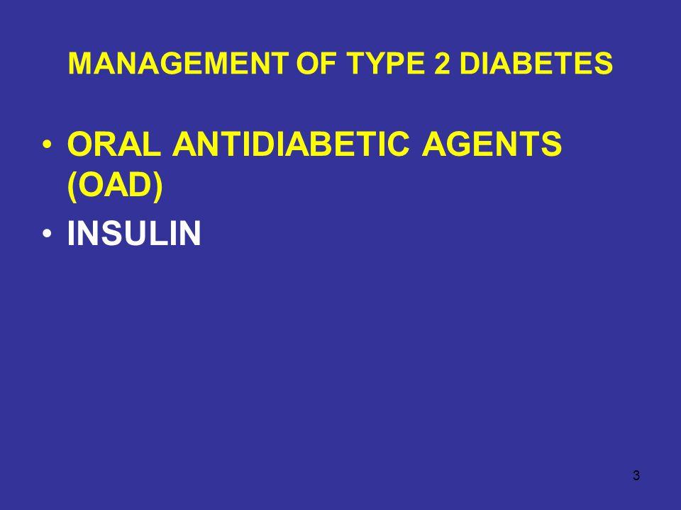ORAL ANTIDIABETIC AGENTS Insulin secretagogues (sulfonylureas, meglitinides, D-phenylalanine derivatives) Biguanides Thiazolidinediones α-glucosidase inhibitors Pramlintide (Amylin) Exenatide (GLP-1) Sitagliptin (DPP-4 inhibitor) 4