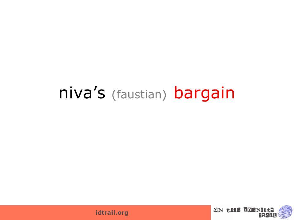 idtrail.org niva's (faustian) bargain
