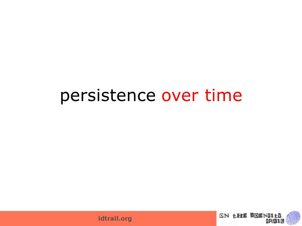 idtrail.org persistence over time