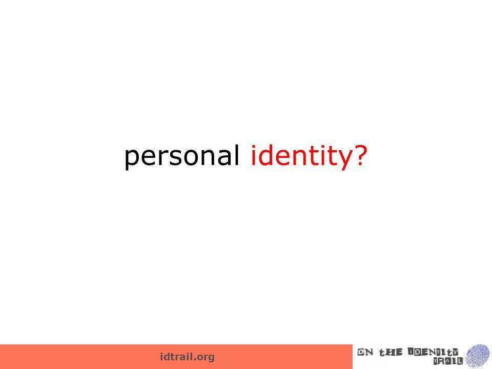 idtrail.org personal identity?