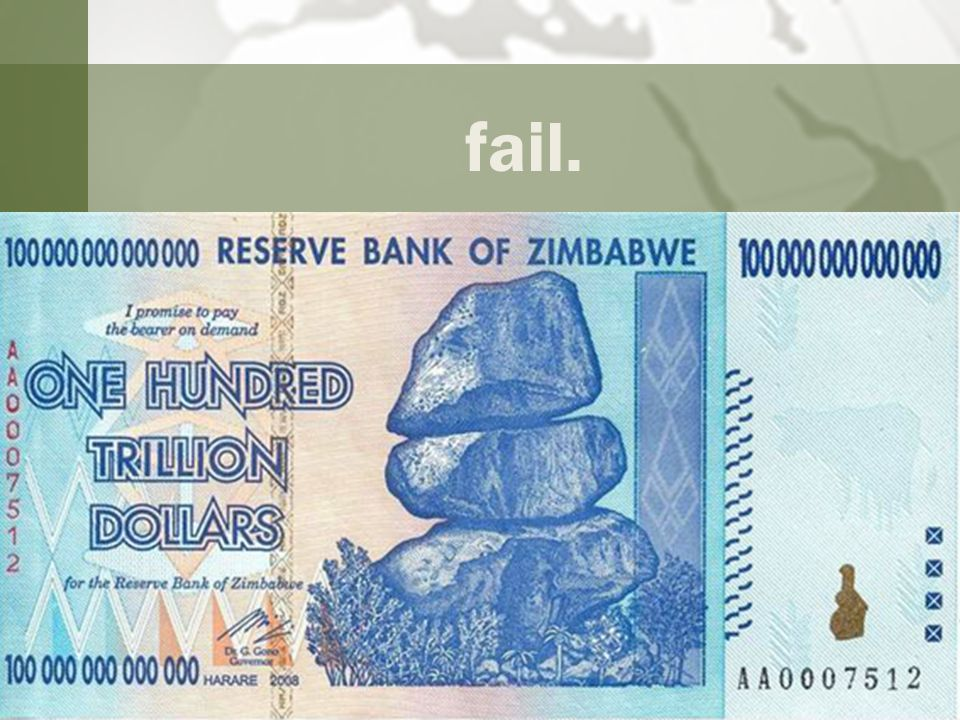 fail. Old currency First reassurance of recovery