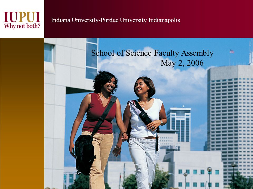 2 Indiana University-Purdue University Indianapolis 2 IUPUI is a major research institution.