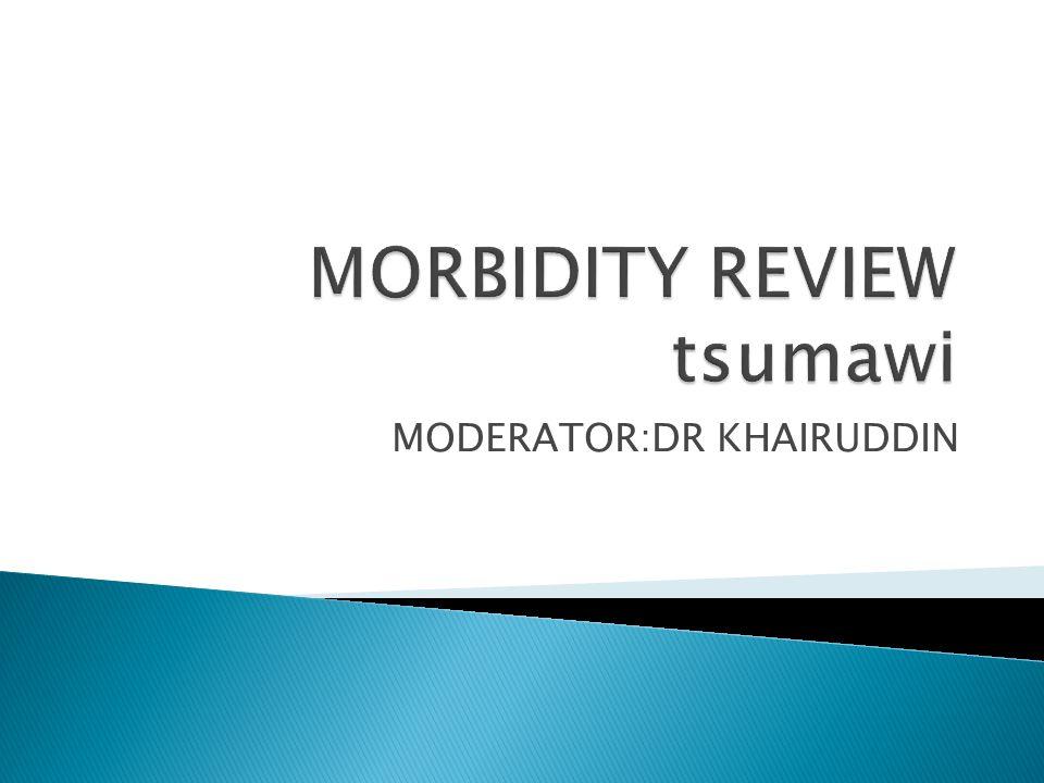MODERATOR:DR KHAIRUDDIN