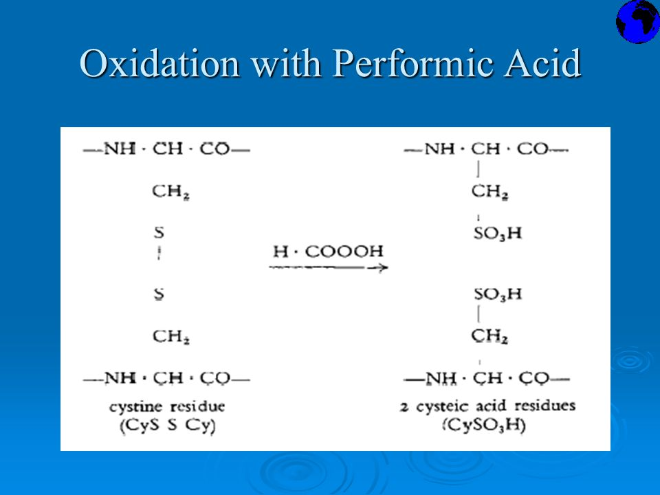Oxidation with Performic Acid
