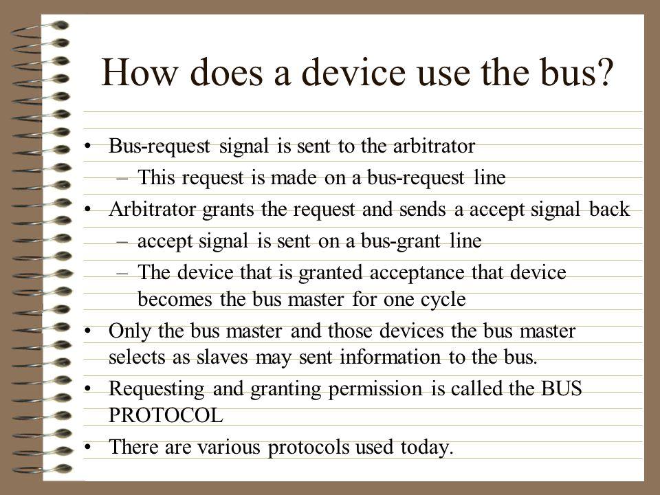 Bus transfers contd.