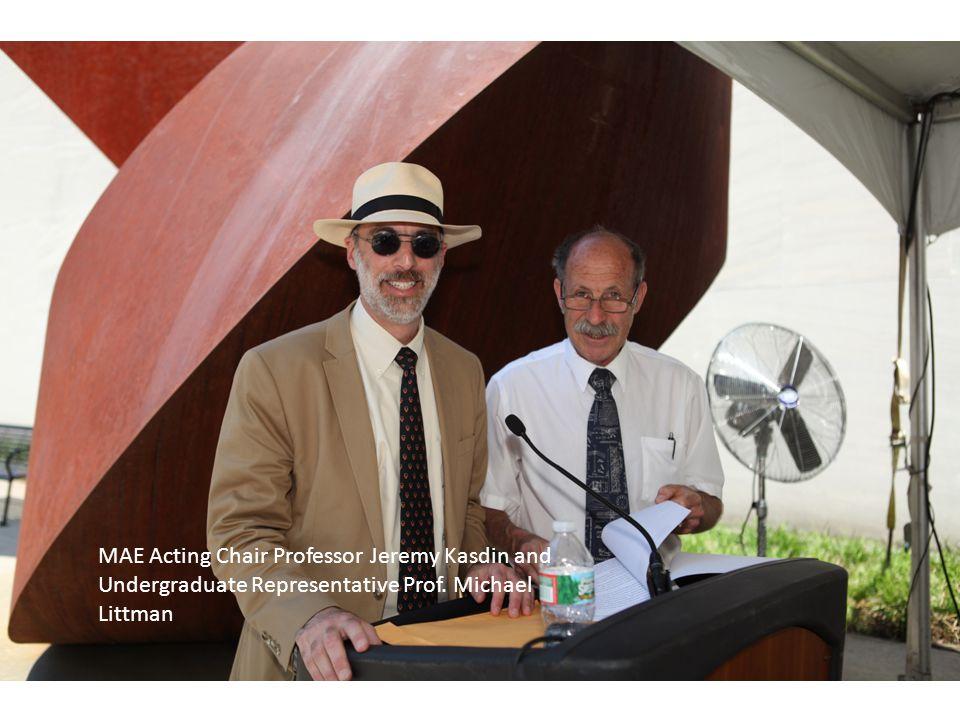 Nigel Brauser: The Mechanical and Aerospace Engineering Undergraduate Support Award