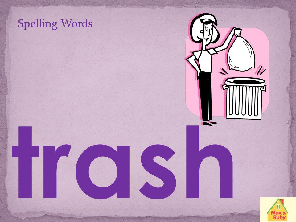 Spelling Words rush