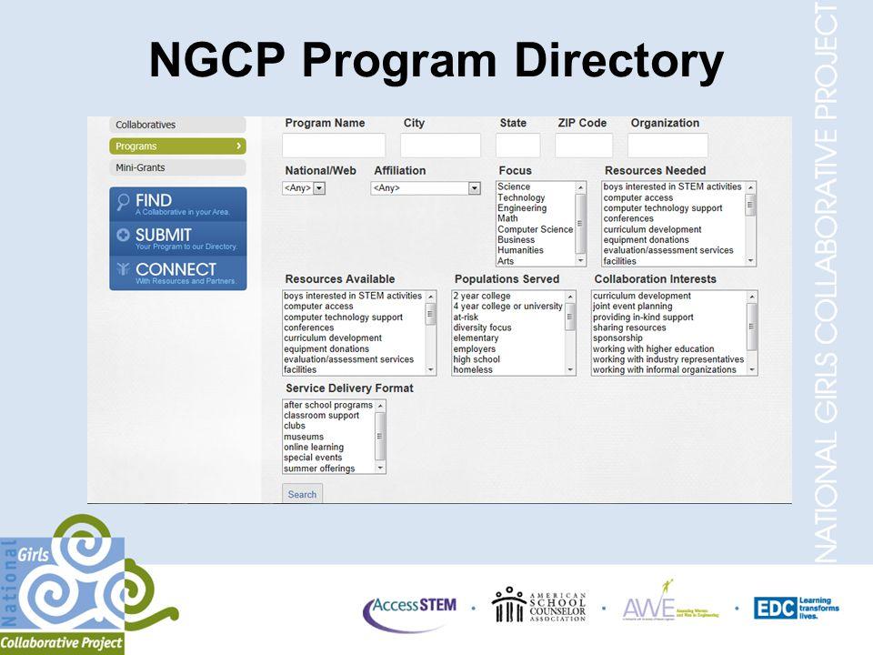 NGCP Program Directory