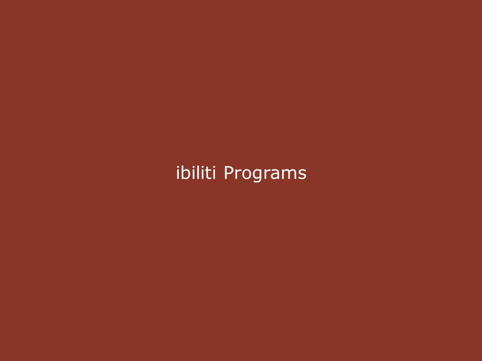 ibiliti Programs