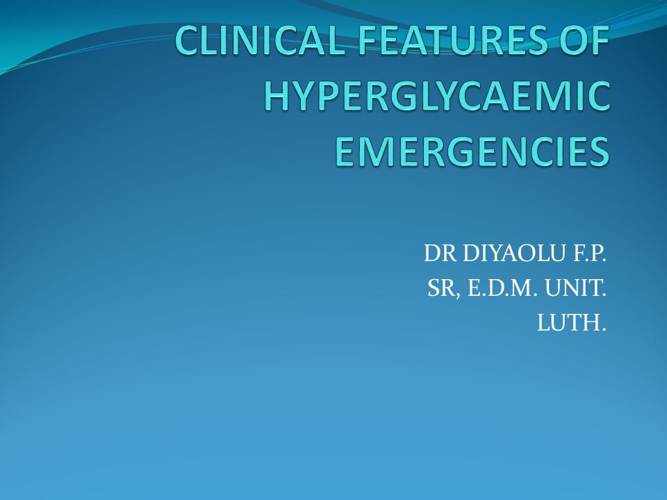 DR DIYAOLU F.P. SR, E.D.M. UNIT. LUTH.