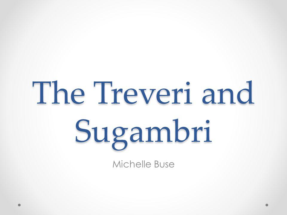 The Treveri and Sugambri Michelle Buse