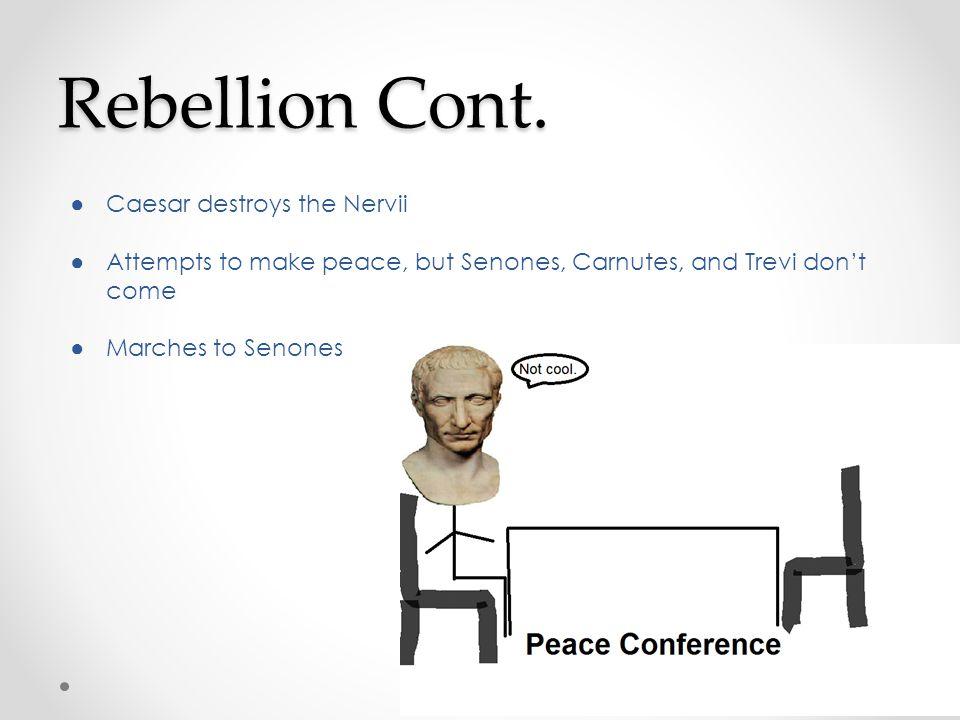 Rebellion Cont.